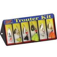 Mepps Trouter Kit - Plain and Dressed Lure Assortment