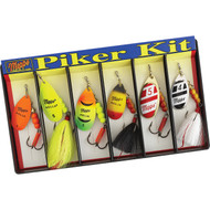 Mepps Piker Kit - #4 and #5 Aglia Assortment