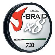 Daiwa J-Braid Dark Green Fishing Line 330 Yards 30lb Test