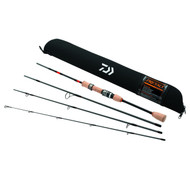 Daiwa Presso Ultralight Pack Spinning Rod 4-Piece 6ft6in