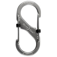 Nite Ize S-Biner SlideLock #4 Stainless Steel