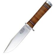Fallkniven NL4 Fixed Blade 5.1 in Satin Blade Leather Sheath