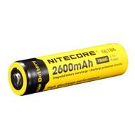 Nitecore 18650 Rechargeable Battery 2600mAh
