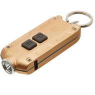 Nitecore TIP Rechargeable Keychain Light Gold
