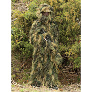 Red Rock 5-Piece Ghillie Suit Woodland - Medium-Large