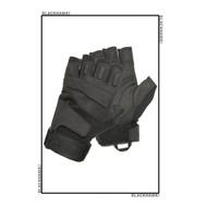 Blackhawk S.O.L.A.G Half-Finger Gloves Black Large
