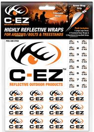 C-EZ Orange Numbered Reflective Arrow and Treestand Wrap