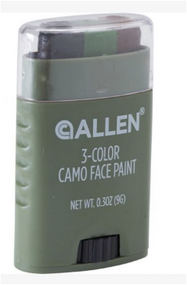Allen 3-Color Camo Face Paint Stick