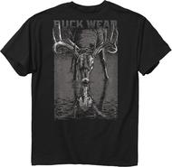 Buckwear Reflection T-Shirt Black Large