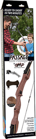 "OMP Passage Recurve Bow Package 54"" 20# RH NO Arrows or Quiver"