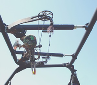 Quick Draw Overhead Bow Rack for UTV