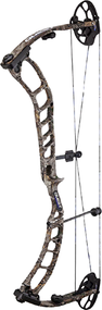 """2018 Quest Thrive 26-31"""" 70# LH Bow Only Flux Cam Realtree Edge"""