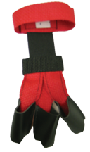 Wyandotte Youth Web Gloves Red Small