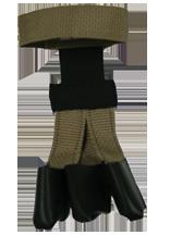 Wyandotte Youth Web Gloves Tan Small