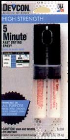 Epoxy 5 Minute Cement Dev-Tube 1oz