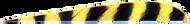 "Trueflight Yellow Bar 5"" RW Feathers - 100 Pieces"