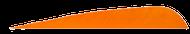 4 RW Gateway Feathers Orange - 100 Pieces
