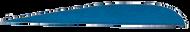 "Trueflight Blue 2 1/2"" RW Feathers - 100 Pieces"