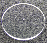 Classic Plano-Convex Mag 6X Lens .010 Drilled