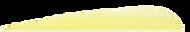 3 RW Gateway Feathers Flo Yellow - 100 Pieces