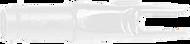 Easton 3D Super Uni Nocks White - 100 Pieces