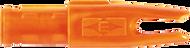 Easton 3D Super Uni Nocks Flo Orange - 100 Pieces