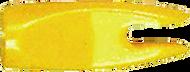 "BJ Nocks 1/4"" Yellow - 100 Pieces"
