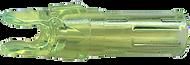 Gold Tip Acculite Nocks Flo Green - 1 Dozen