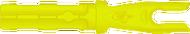 Gold Tip Accu Tough Nock Flo Yellow .204 - 1 Dozen