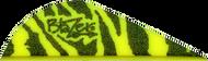 """Bohning Blazer Vanes 2"""" Yellow Tiger - 100 Pieces"""
