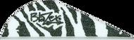 "Bohning Blazer Vanes 2"" White Tiger - 100 Pieces"
