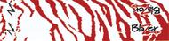 Bohning Blazer Wraps White/Red Tiger - 1 Dozen