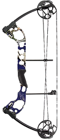 """2015 Quest Radical Realtree Purple Bow Package RH 25"""" 40# Compund Bow"""