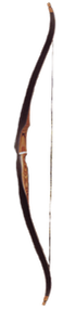 2015 Bear Grizzly Right Hand 55# Recurve Bow