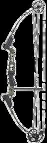2015 Genesis Mini Bow Kit Black Licorice Right Hand Youth Bow