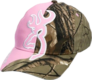 Browning Big Buckmark Hat Realtree Xtra/Pink