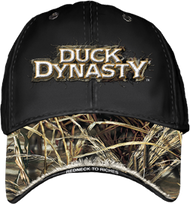 Duck Dynasty Logo Baseball Cap Black & Max 4