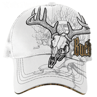 Buck Wear Deer Treestand Skull Baseball Cap