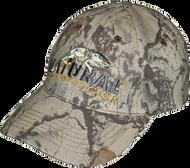 Natural Gear 6 Panel Baseball Hat Natural Camo