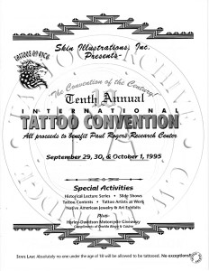 Green Bay 95 Convention Program