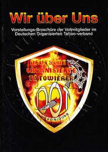 Deutschen Organisierten Tattoo Booklet