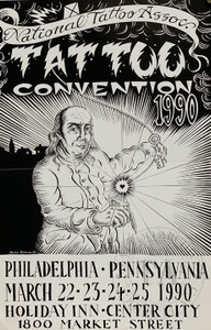 Original National Tattoo Association Convention Poster
