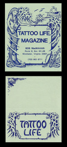 Original Tattoo Life Magazine Business Card