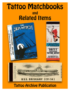Tattoo Matchbooks and Related Items