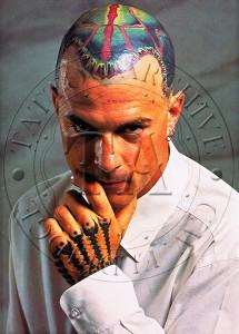 Dan Higgs Tattooing