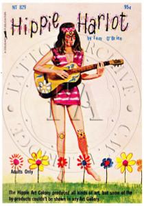 Hippie Harlot Postcard