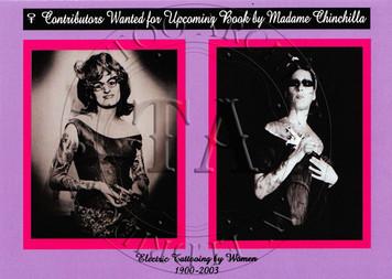Cindy Ray/Madam Chinchilla  Postcard