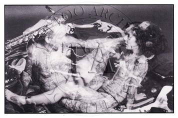 Junii & Bill Salmon Postcard