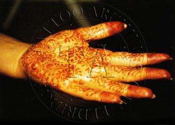 Henna Postcard