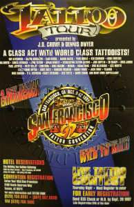 Tattoo Tour Poster - 1997
